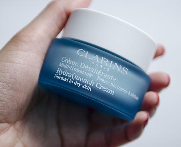 Clarins-Creme-Desalteante-Multi-Hydratante-noram-to-dry-Skin Clarins Gentle eye make-up reiniger en Crème Désaltérante
