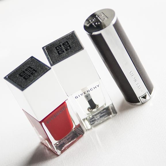 Givenchy-Nail-Colour-red-nagellak-Lip-Colour1 Givenchy Le Vernis & Le rouge
