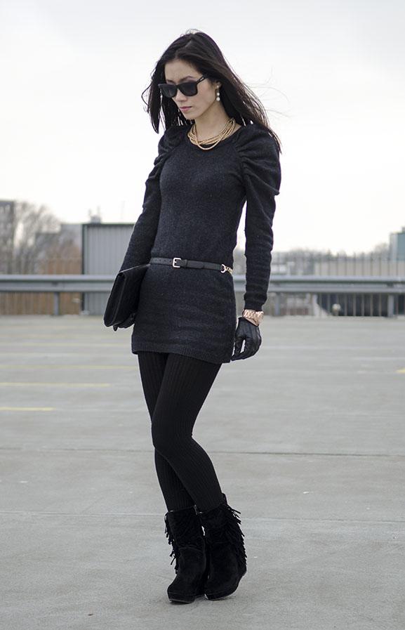 My-Huong-Black-chique-Bidutchy-look Outfit: Black Velvet