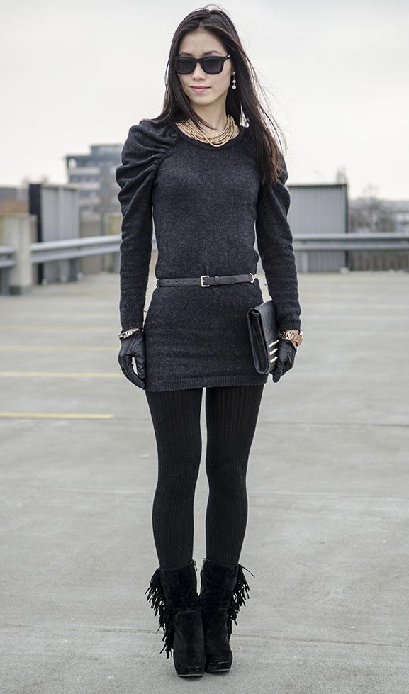 My-Huong-Black-velvet-stylo Outfit: Black Velvet