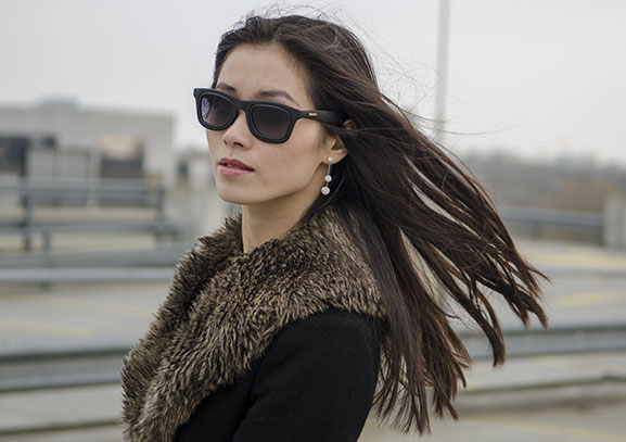 My-Huong-look-Bidutchy Outfit: Black Velvet