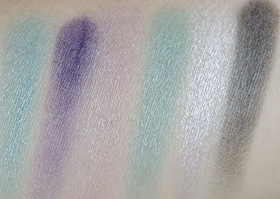 Sleek-aqua-lagoon-collecion-swatches-1 Sleek Aqua collection Lagoon i-Divine Eyeshadow Palette