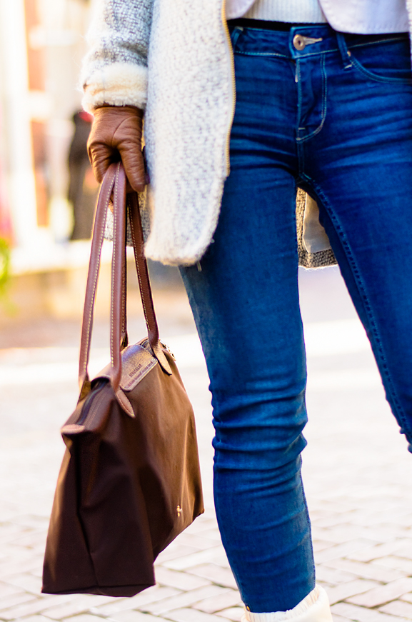 Jeans-Outfit-Casual-winter-look-Longchamp Outfit: Casual winter