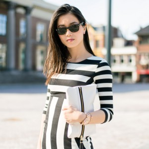 My-Huong-Gestreepte-jurk-300x300 OUTFIT: The striped dress