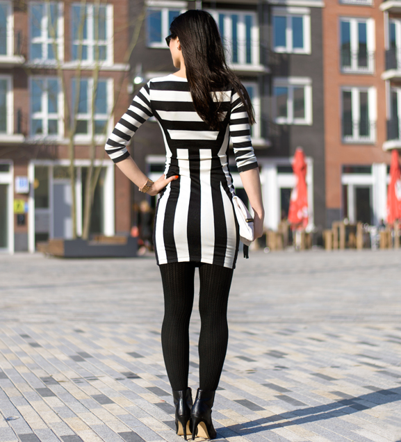 My-Huong-outfit-jurk-dress-striped OUTFIT: The striped dress