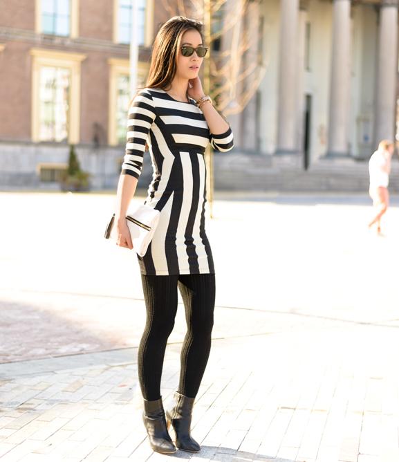 My-Huong-zaailand-leeuwarden-striped-zwart-wit-streepjes-jurk OUTFIT: The striped dress