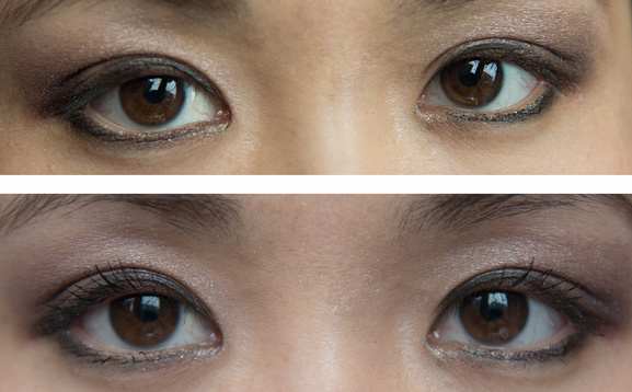 Voor-na-before-after-mascara-benefit-lash Benefit Cosmetics