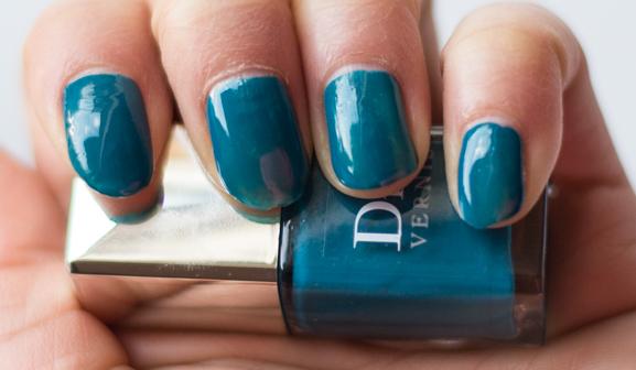 oker-blauw-dior-Vernis-Bahia Dior Birds of Paradise zomer make-up 2013