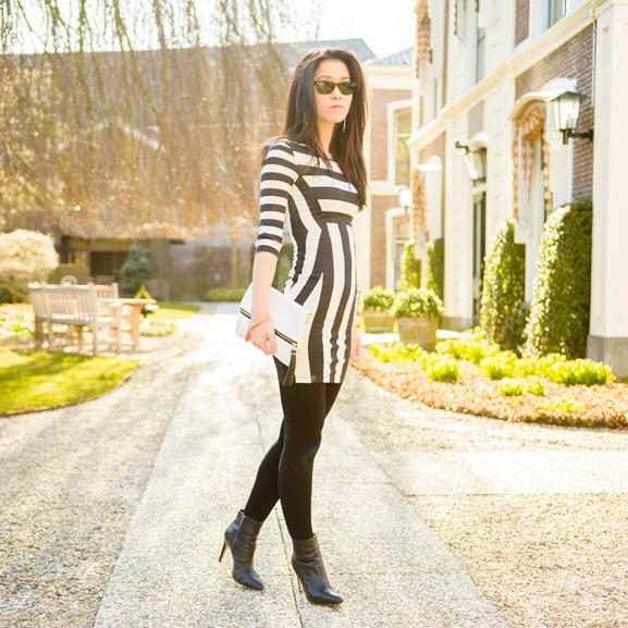 striped-dress-jurk OUTFIT: The striped dress