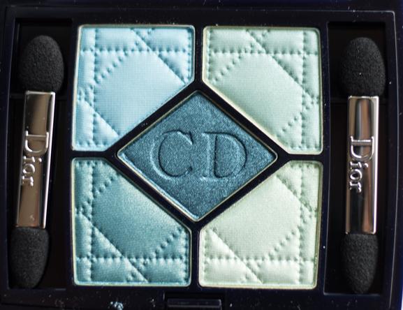 5-couleurs-dior-blue-lagoon-palette Dior 'Blue Lagoon' 5 Couleurs palette