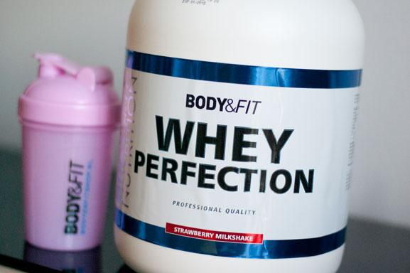 whey protein vrouwen