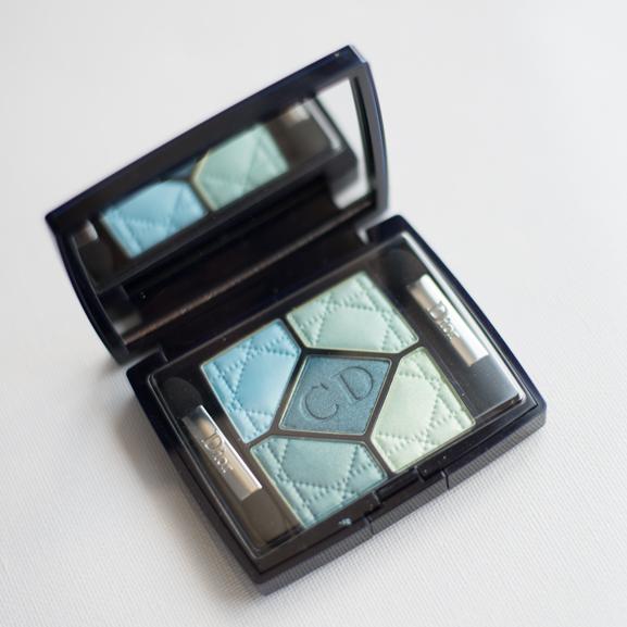 Dior-5-couleurs-palette-Blue-Lagoon-summer-2013 Dior 'Blue Lagoon' 5 Couleurs palette