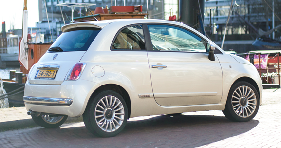 Fiat-500-wit Outfit: Comfi look