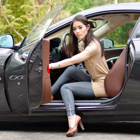 Maserati-GranTursmo-Outfit-JoshV-jurkje-look Outfit: JoshV jurkje met de Maserati GranTurismo
