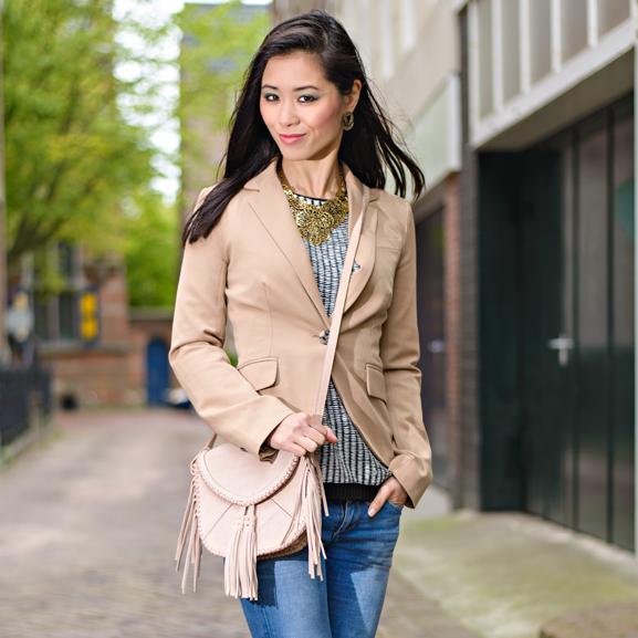 My-Huong-Blog-artikel-looks Outfit: Casual look met leder bruine laarsjes van Miss Roberta