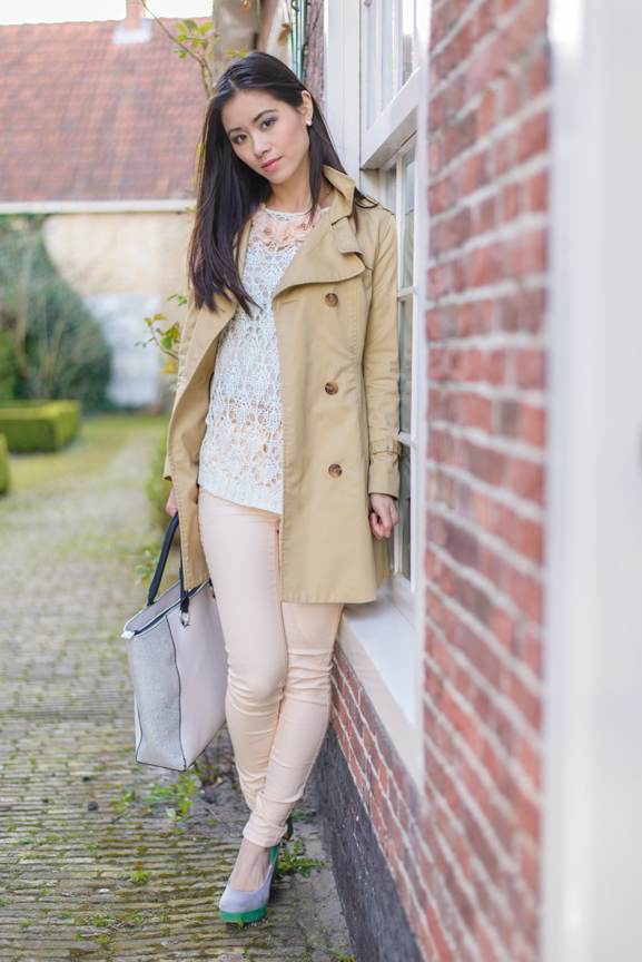 My-Huong-lace-boho-chic Outfit: Floral pastel