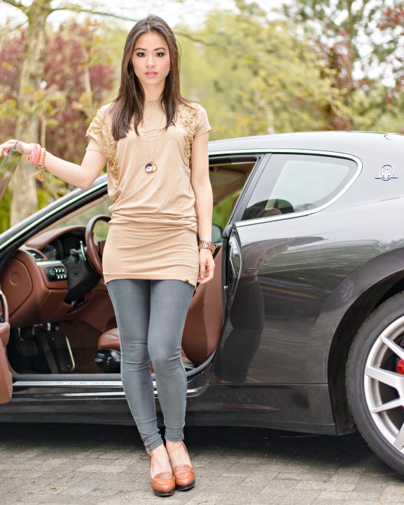 My-TOV-H-amp-M-Fashion-Blogger-JOSHV-Dress-Top Outfit: JoshV jurkje met de Maserati GranTurismo