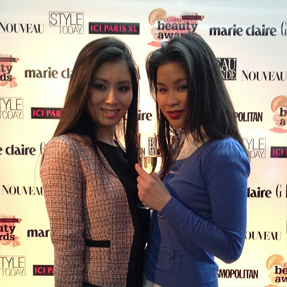 samen met njoek huong my huong holland beauty awards