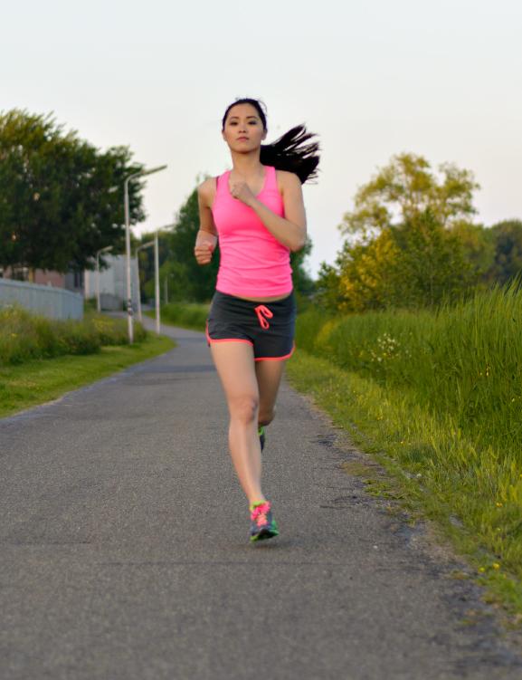 Hardlopen-my-huong-neon-kleding-sport-Saucony-Groen-roze Running: Saucony Virrata