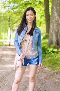 Looks-Shorts-denim-My-Huong-200x300 Outfit: Summer Festival Look