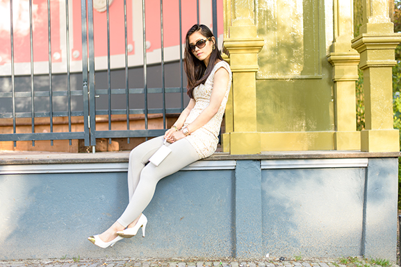 My-Huong-outfit-look Outfit: The White/Rose Dress