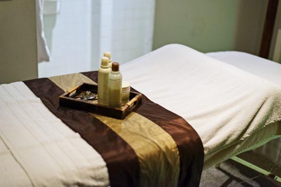 aveda-dayspa-behandelkamer-treatment Review + Win!  Aveda Spa Facial Gezichtsbehandeling