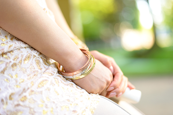 speechless-braceletss-my Outfit: The White/Rose Dress