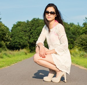 Gehaakt-wit-jurkje-summer-outfit-300x292 Outfit: White Knitted Dress H&M