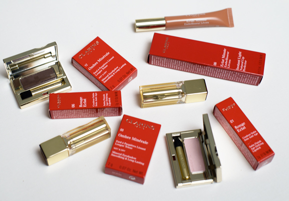 Make-up-clarins NEW: Clarins Mono eyeshadow,  Rouge Eclat &  Instant lip perfector