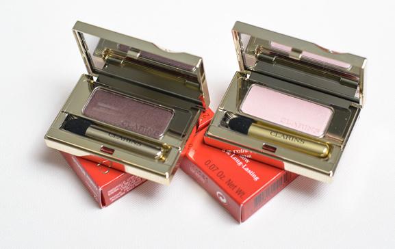 Ombre-Minerale-eyeshadow NEW: Clarins Mono eyeshadow,  Rouge Eclat &  Instant lip perfector