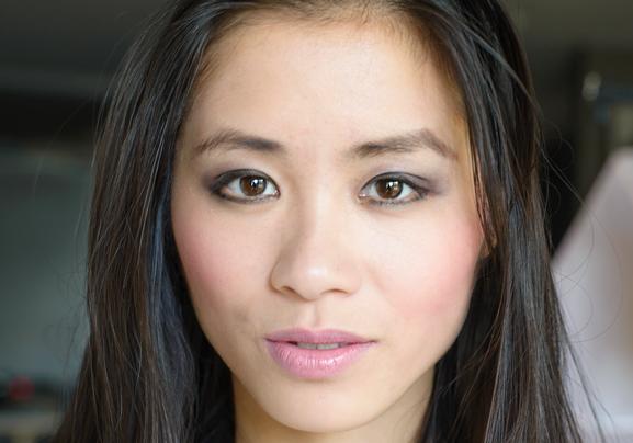 eye-look-clarins-rouge-eclat NEW: Clarins Mono eyeshadow,  Rouge Eclat &  Instant lip perfector
