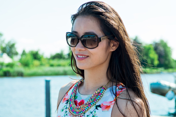 Dior-sunglasses-My-Huong-Outfit Outfit: Summer day at the boat
