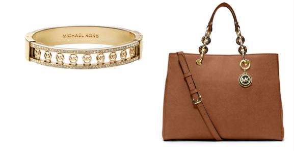 Michael-Kors-Bracelet-monogram-Handbag-brown Musthaves: Michael Kors Accessoires