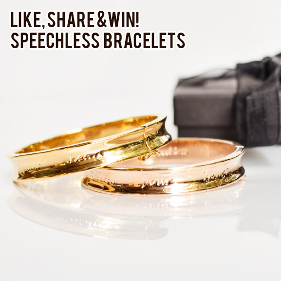 "speechless-bracelets-win Follow Up: Speechless bracelets ""follow your heart"" + win!"