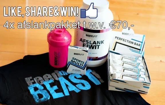 bodyenfit-winactie WIN! 4x ga op eiwitdieet en win een Afslank pakket Body & Fit t.w.v. €70,-