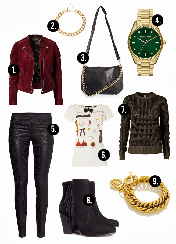 outfit  musthaves herfst 2013