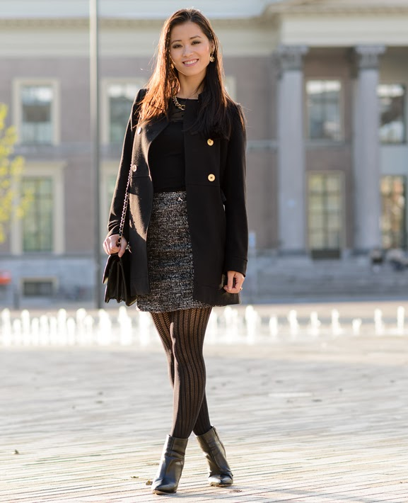 My-Huong-chanel-inspired-look Outfit: Chanel inspired autumn look
