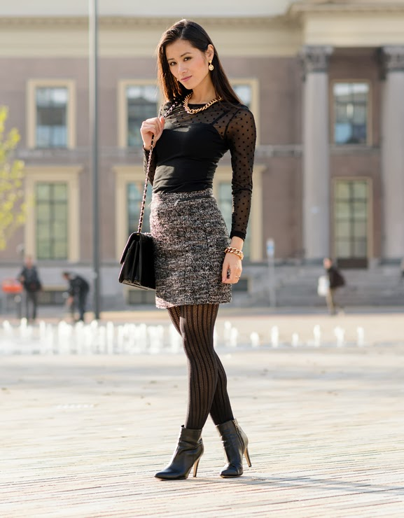 My-Huong-outfit-looks Outfit: Chanel inspired autumn look