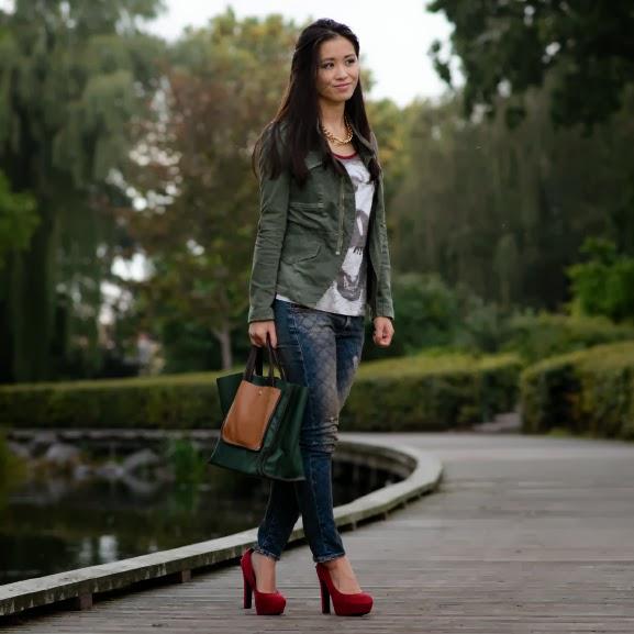 Shoeby-fashion-met-broek-miss-roberta Outfit: Casual militairy look