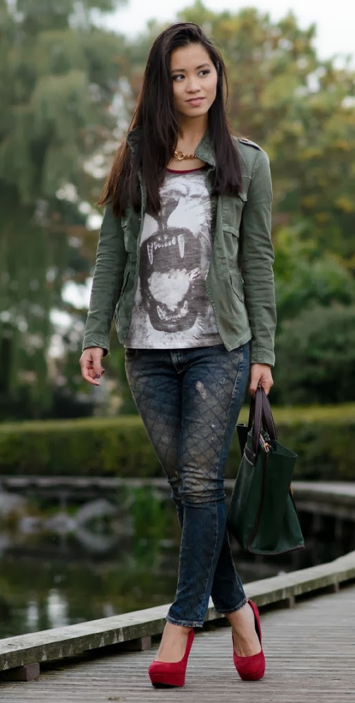 outfit Outfit: Casual militairy look
