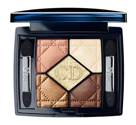 5-COULEURS-634-GOLDEN-FLOWER_ Dior Golden winter make-up 2013