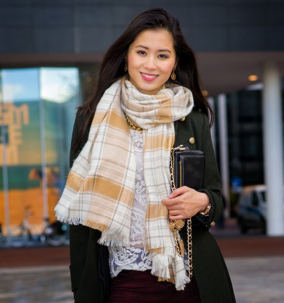 My-Huong-autumn-look-2013 Outfit: Military Coat