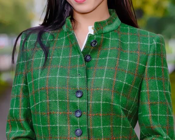 basler-via-Peter-Hahn Outfit: groene herfst jasje