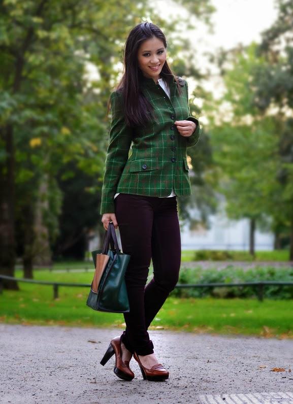 boslook-my-huong Outfit: groene herfst jasje