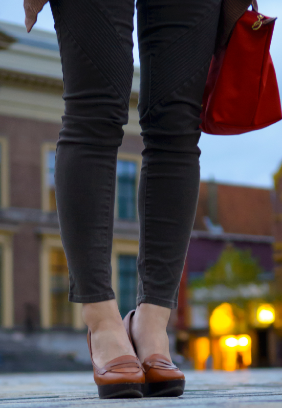 broek-legging-jeans Outfit: Aztec cardigan