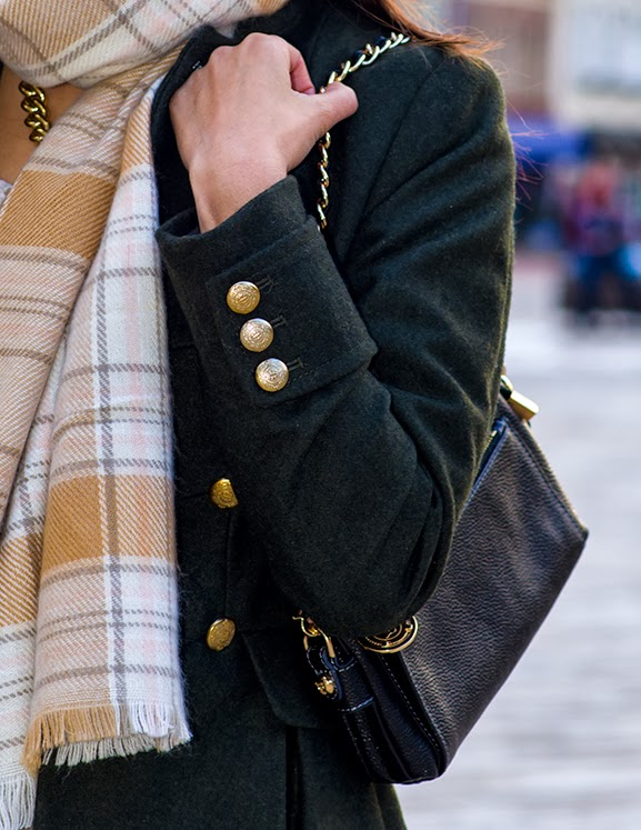 details-militry-coat Outfit: Military Coat