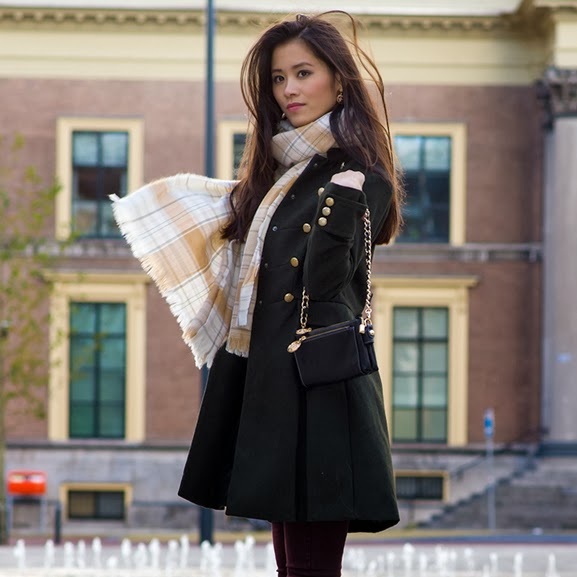 miliaty-jack-green-autumn-winter Outfit: Military Coat