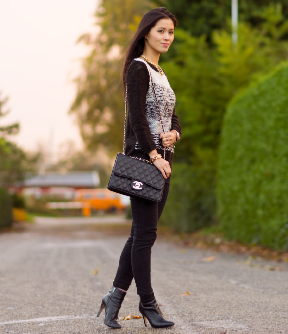my-huong-boskrane-look Outfit: Herfst duoshoot Black vs. Brown