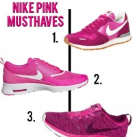 nike shoes pink musthaves