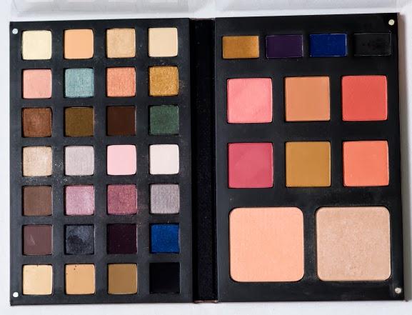 palette-open-smashbox-makeup Smashbox The Master Class Palette 2